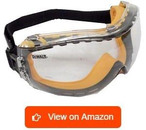 b410319f26ad Best Safety Glasses Reviews 2019. 1. DEWALT DPG82-11CTR Clear Anti-Fog  Safety Goggle
