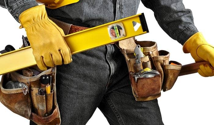 solutions in softening work gloves made of leather