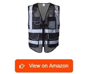 JKSafety-9-Pockets-Class-2-High-Visibility-Safety-Vest