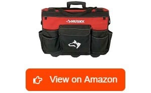 Husky-18-Inch-600-Denier-Red-Water-Resistant-Contractor's-Rolling-Tool-Tote-Bag