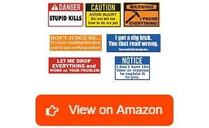 Maye-Market-10-pack-Funny-Hard-Hat-Stickers