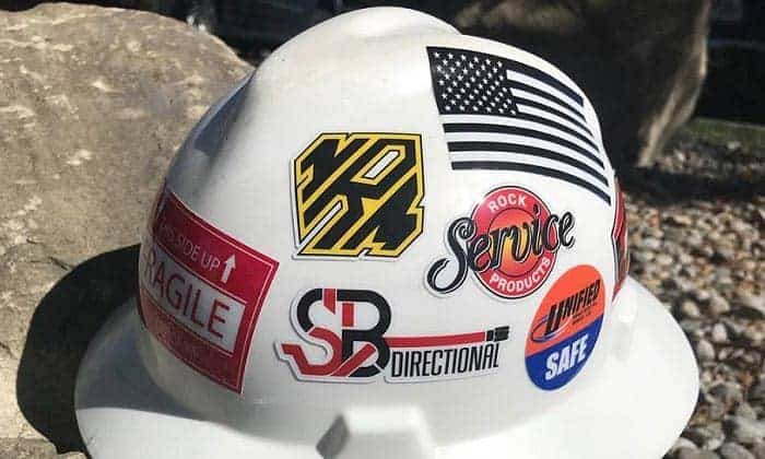 best hard hat stickers