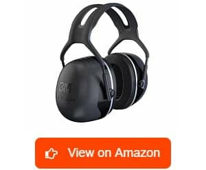 3M Peltor X Series Over the Head Earmuffs