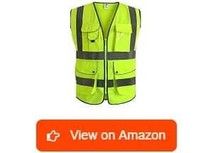 JKSafety Class 2 High Visibility Safety Vest