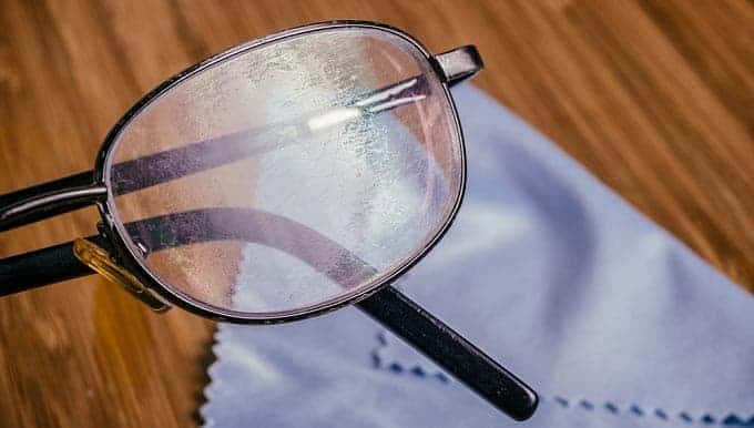 How to Clean Cloudy Eyeglasses