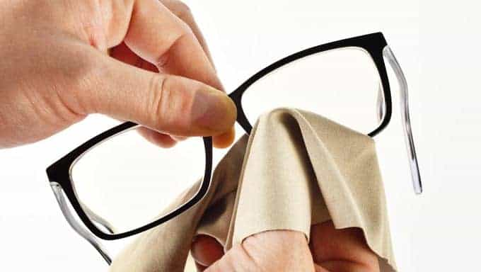 Preventing your Glasses from Getting Cloudy