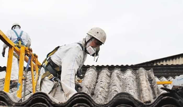 asbestos-respirator