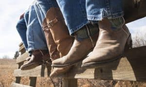 how to fix heel slippage in cowboy boots