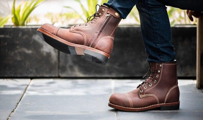 best zipper work boots