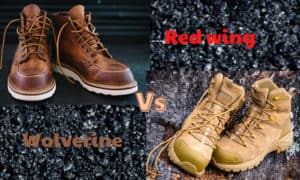 red wing vs wolverine work boots
